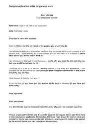 19 Job Application Letter Examples Pdf