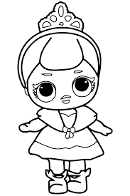 Doll Coloring Pages At Getdrawingscom Free For Personal Use Doll