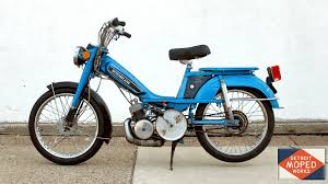 1981 blue motobecane romp sold detroit moped works