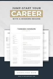 Modern Look Resume Refresh Your Resume With A Modern Look And Jump Start Your Career