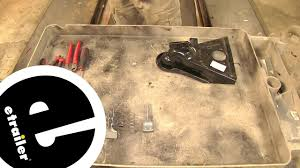 atwood top mount coupler repair kit installation etrailer