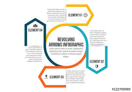 Revolving Arrows Infographic Buy This Stock Template And Explore