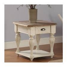 32509 riverside furniture coventry two tone living room end table