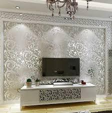 gold metal wallpaper home decor luxury