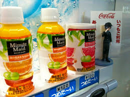 Minute Maid Vending Machine Cool Minute Maid Juice Vending Machine In Japan Snark And Hot Pants