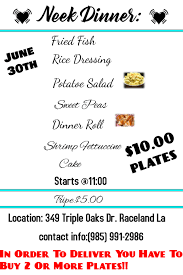 Plate Lunch Dinner Template Postermywall