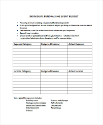 budgets sample 10 event budget examples samples