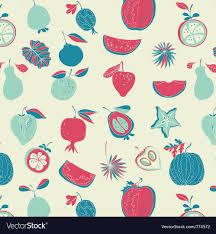 fruit wallpaper pattern. Interesting Wallpaper Vintage Fruit Wallpaper Vector Image On Fruit Wallpaper Pattern W