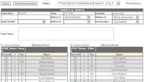 Hockey Statistics Spreadsheet Scoresheet 1 Furthermore Scoresheet ...