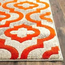 s blue green orange rug