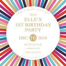 Birthday Party Invitations Creative Designs Print Types