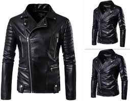 pop nice men s autumn winter brand rock leather jacket motorcycle jacket men leather clothes slim mens jacket coats denim biker jacket womens mens jacket