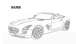 Exotic Cars Printable Coloring Page For Kids 10