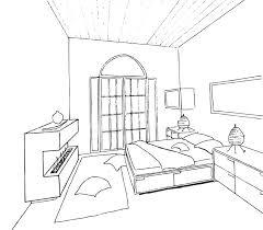 interior design bedroom sketches. Stupendous Bedroom Sketch Design Sketchup Interior Sketches