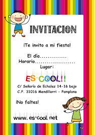 Invitaciones Fiesta