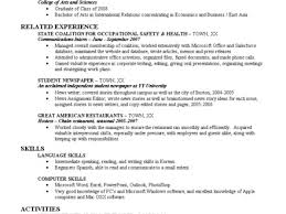 Resume Templates Recent College Graduate Recent College Graduate Budget Major Magdalene Project Org