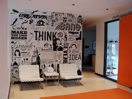 wall design ideas for office. Graphic Wall Design Office Interior Cool From Home Ideas For W