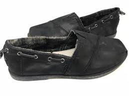 skechers women s bobs chill luxe shoes black leather 33731 172l az