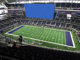 Kenny Chesney Seating Chart Cowboy Stadium At T Stadium View From Upper Reserved 410 Vivid Seats