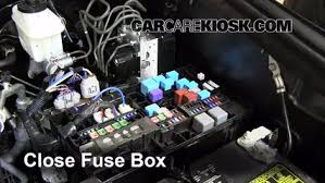 blown fuse check 2008 2016 toyota sequoia 2012 toyota sequoia 6 replace cover secure the cover and test component