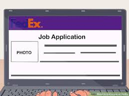 Fedex Jobs El Paso How To Get A Job At Fedex 12 Steps With Pictures Wikihow