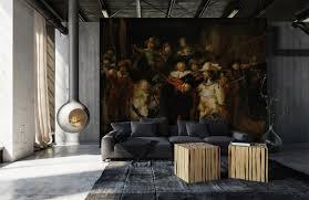 De Nachtwacht Fotobehang De Volledige Naam Van Het Schilderij Is