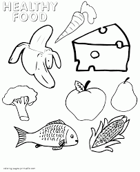 Small Picture Healthy food coloring pages Food groups