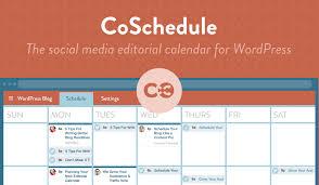 Online Planning Calendar Coschedule Review The Best Online Marketing Calendar Reginald Chan