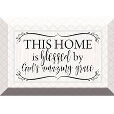 this home is blessed textual art on glass on allah bless this home wall art with bless this home wall art wayfair
