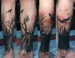 тату на икре татуировки 68 фото