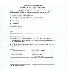 Sample Retainer Agreement BEWARE OF ATTORNEY JOHN BALENT 4