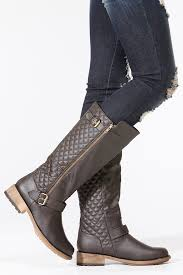 Qupid Quilted Zip Up Riding Boots @ Cicihot Boots Catalog:women's ... & Qupid Quilted Zip Up Riding Boots Adamdwight.com