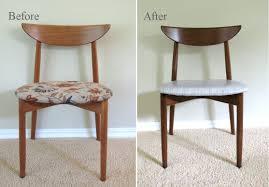 my mid century modern dining chairs