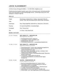 Button-Down Resume Template