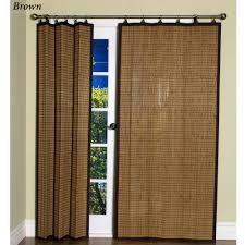 inspiring bamboo curtain panels outdoor