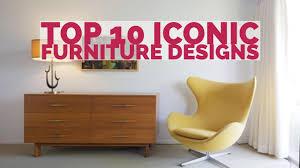 iconic furniture. Top 10 Iconic Furniture Designs