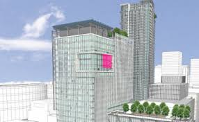 telus garden offices office mcfarlane. TELUS Garden Office Tower Could Boast Giant Projection Screen Telus Offices Mcfarlane