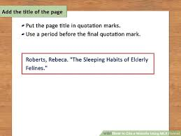 Mla 8 Citation How To Cite A Website Using Mla Format 15 Steps With Pictures