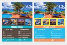 Travel Agency Flyers Sample Barca Fontanacountryinn Com
