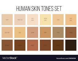 Creative Of Human Skin Tone
