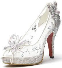 glass wedding shoes. amazon.com | littleboutique lace wedding pumps crystal stud bridal high heels rhinestone evening party dress heel pump glass shoes e