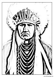 Small Picture adult native american indian Coloring pages Printable