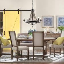 6 home decorators collection andrew antique grey dining chair set