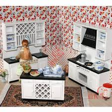 mini furniture sets. 1:12 Scale Wooden Dollhouse Miniature Kitchen Room Furniture Set Mini Doll House Cabinet Accessories Toy Gift -in Toys From \u0026 Hobbies On Sets O