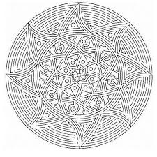 Mandala Coloring Pages Pdf Printable Coloring Page For Kids