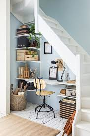 1000 ideas about desk under stairs on pinterest under stairs stairs and under stair storage area homeoffice homeoffice interiordesign understair