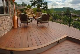 Composite deck ideas Backyard Composite Deck Ideas Landscaping Ideas Pictures Of Compostite Deck Designs Ideas And Plans