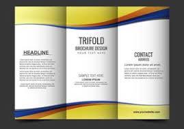 Fold Flyer Brochure Free Vector Art 28853 Free Downloads