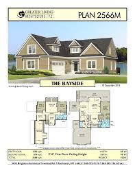 Plan 2566m the bayside house plans two story house plans 1st floor
