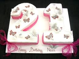 21 Birthday Cakes Black And Pink Cake 21st Birthday Cakes Female